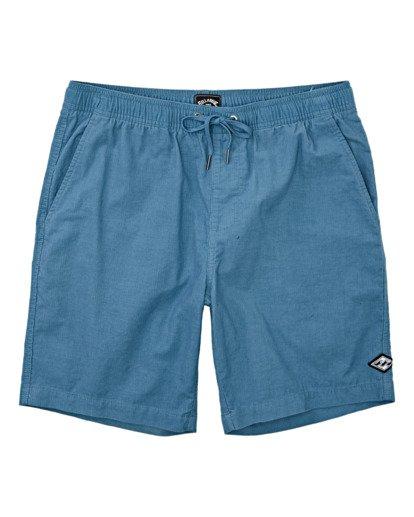 0 Larry Layback Corduroy Shorts Grey B2401BLC Billabong