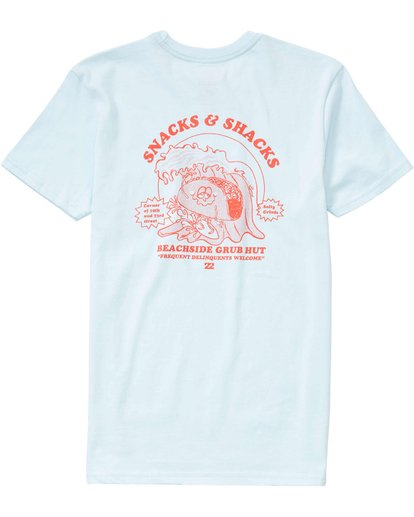 1 Boys' Snacks N Shacks T-Shirt  B401LSNA Billabong