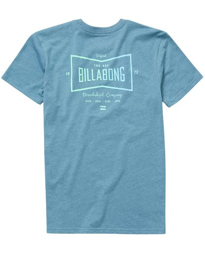 1 Boys' Craftsman Tee  B401NBCR Billabong