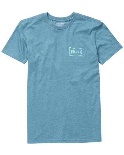 0 Boys' Craftsman Tee  B401NBCR Billabong