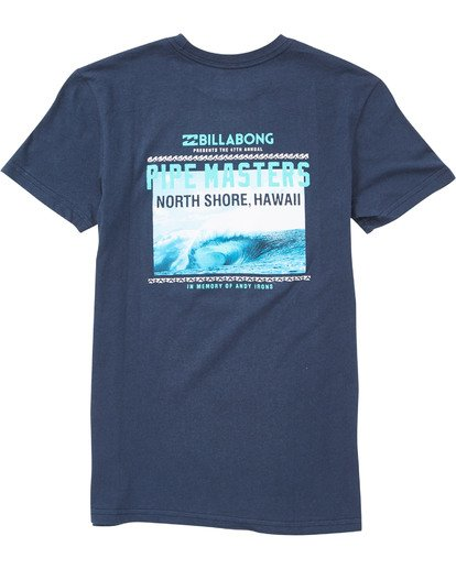 1 Boys' Pipe Poster T-Shirt  B401NBPP Billabong