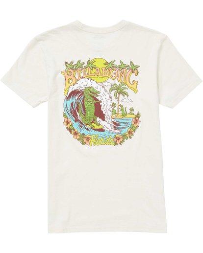 1 Boys' Gator Daze Fl T-Shirt  B401QBGD Billabong