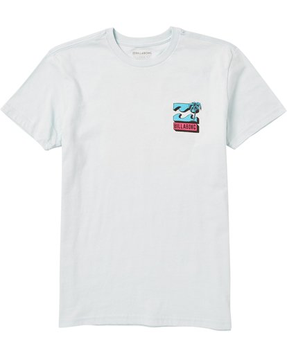 0 Boys' Bbtv Tee Shirt Blue B401SBBB Billabong