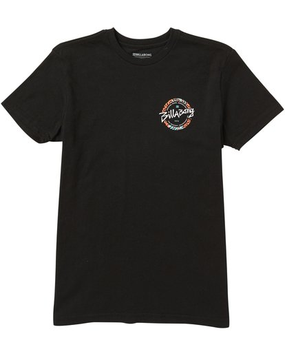 0 Boys' Eighty Six Tee Shirt Black B401SBEI Billabong