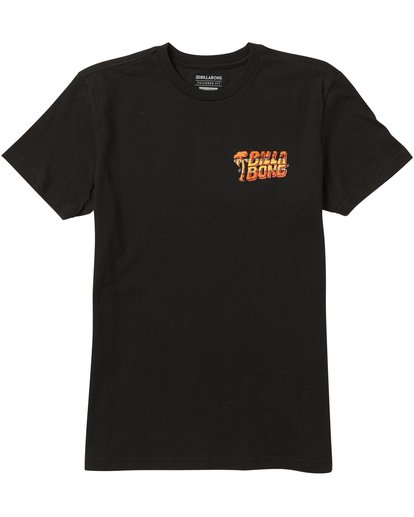 0 Boys' Selector Tee Shirt Black B401SBSE Billabong