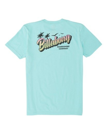 1 Boys' Beachin Short Sleeve T-Shirt Grey B4041BBE Billabong