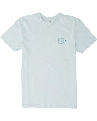 0 Boys' Diecut Short Sleeve T-Shirt Blue B4041BDC Billabong