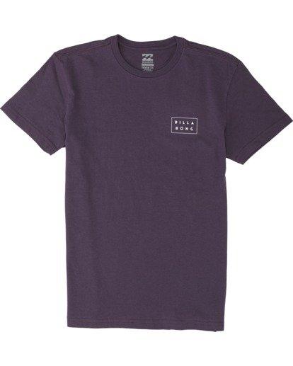 0 Boys' Diecut Short Sleeve T-Shirt Multicolor B4041BDC Billabong