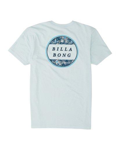 1 Boys' Rotor Short Sleeve T-Shirt Blue B4041BRO Billabong