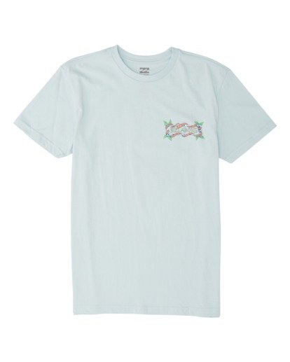 0 Boys' Slither Short Sleeve T-Shirt Blue B4041BSL Billabong