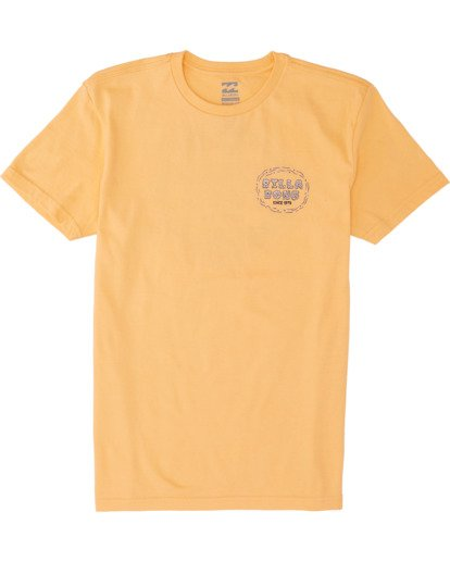 0 Boys' Stinker Short Sleeve T-Shirt Grey B4041BST Billabong