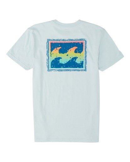 1 Boys' Warchild Short Sleeve T-Shirt Blue B4041BWA Billabong