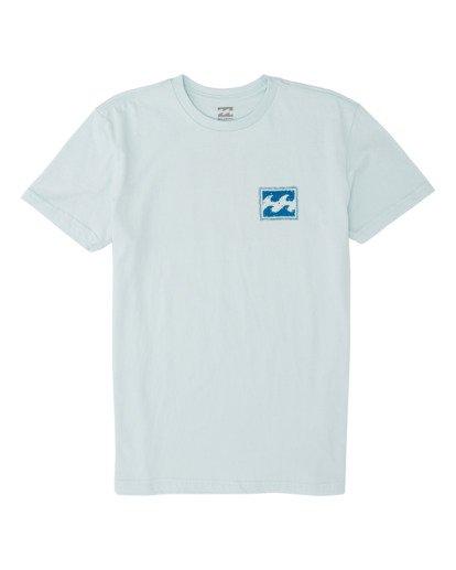 0 Boys' Warchild Short Sleeve T-Shirt Blue B4041BWA Billabong