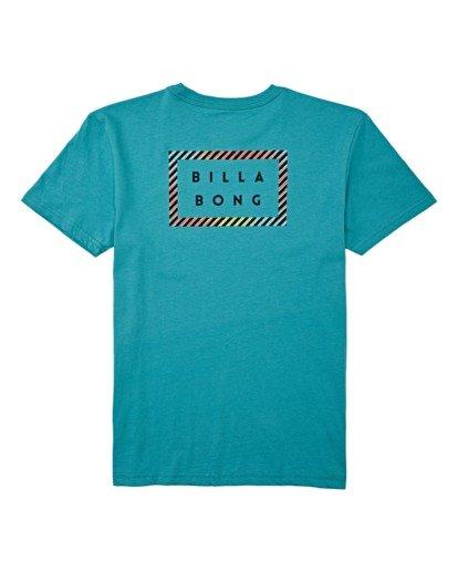 1 Boys' Die Cut Short Sleeve T-Shirt Green B4042BDC Billabong