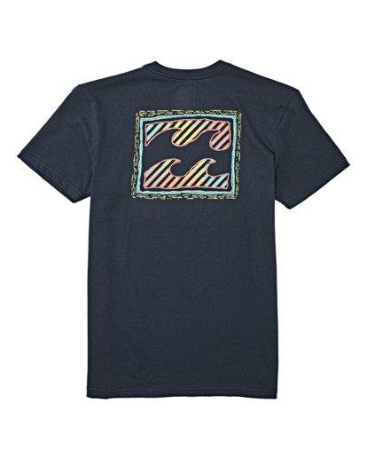 1 Boys' Nosara Short Sleeve T-Shirt Blue B4042BNO Billabong