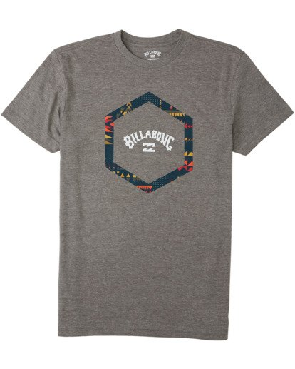 0 Boys' Access T-Shirt Green B4043BAC Billabong