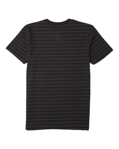 1 Boys' Line Up T-Shirt Black B4043BLU Billabong