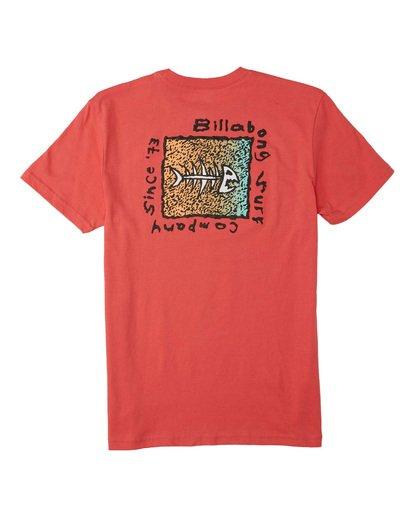1 Boys' Mondo T-Shirt Orange B4043BMO Billabong