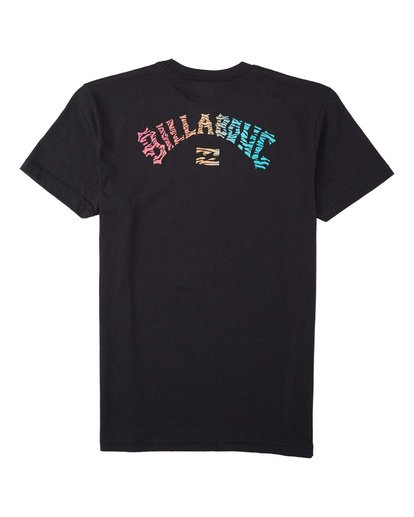 1 Boys' Okapi T-Shirt Black B4043BOK Billabong