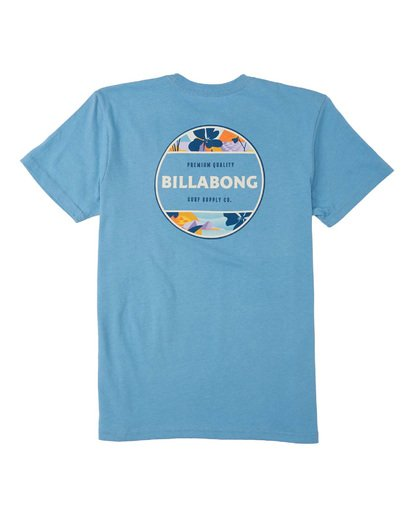 1 Boys' Rotor T-Shirt Grey B4043BRO Billabong