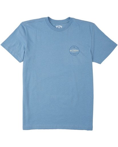 0 Boys' Rotor T-Shirt Grey B4043BRO Billabong