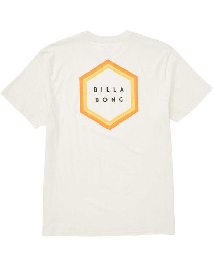 1 Boys' Access Border T-Shirt White B404TBAB Billabong