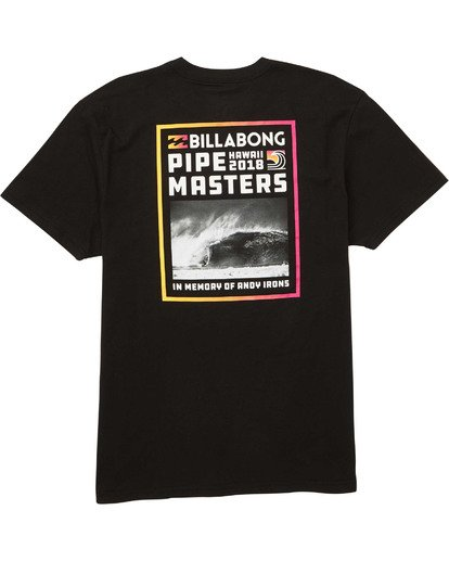 1 Boys' Pipe Poster T-Shirt  B404TBPI Billabong