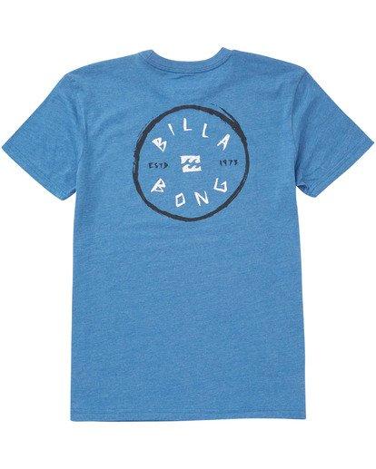 1 Boys' Rotohand T-Shirt Blue B404TBRH Billabong