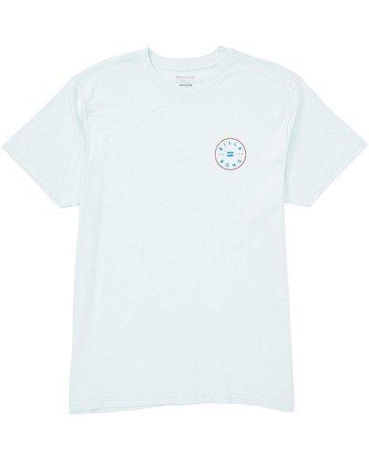 0 Boys' Boys' Rotor T-Shirt Blue B404TBRO Billabong