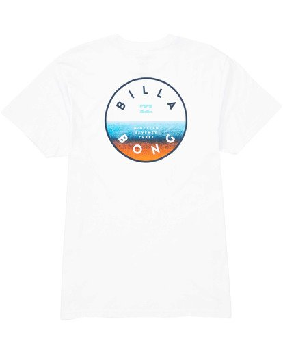 1 Boys' Boys' Rotor T-Shirt White B404TBRO Billabong