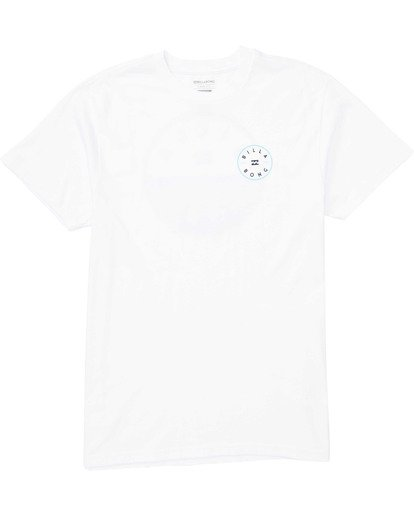 0 Boys' Boys' Rotor T-Shirt White B404TBRO Billabong