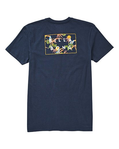 1 Boys' Diecut Tee Blue B404UBDC Billabong