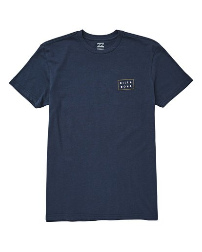 0 Boys' Diecut Tee Blue B404UBDC Billabong