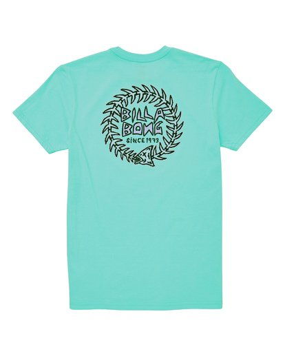 1 Boys' Fishtail T-Shirt Blue B404UBFT Billabong