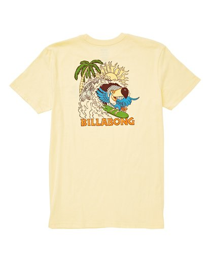 1 Boys' Toucan T-Shirt Yellow B404UBTO Billabong