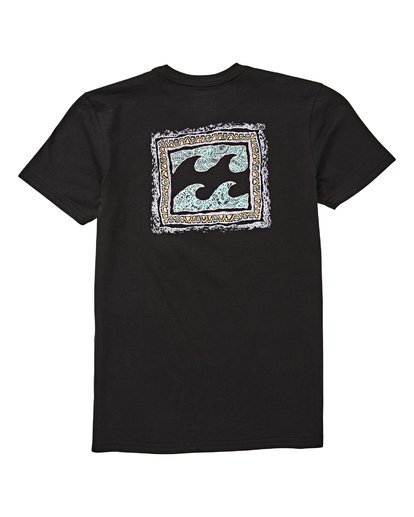 1 Boys' Warp T-Shirt Black B404UBWA Billabong
