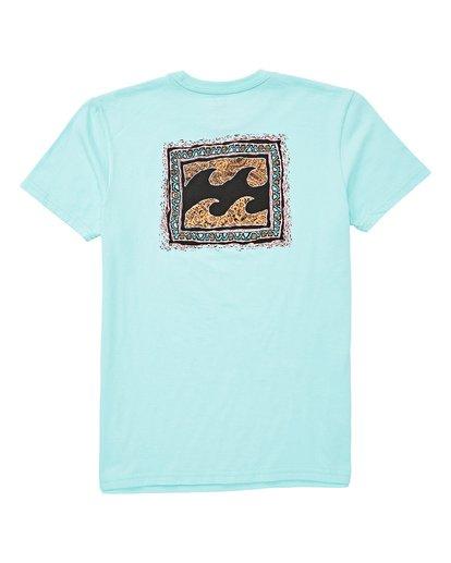 1 Boys' Warp T-Shirt Blue B404UBWA Billabong