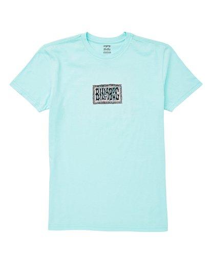 0 Boys' Warp T-Shirt Blue B404UBWA Billabong