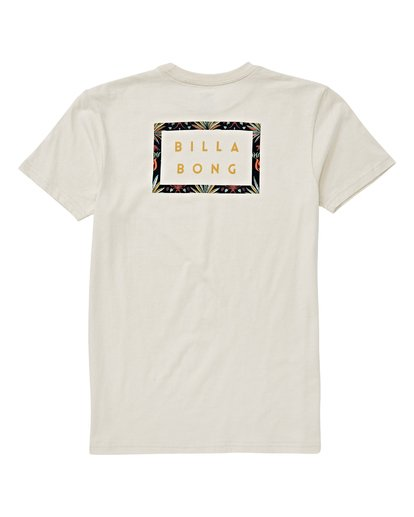 1 Boys' Diecut T-Shirt White B404VBDC Billabong