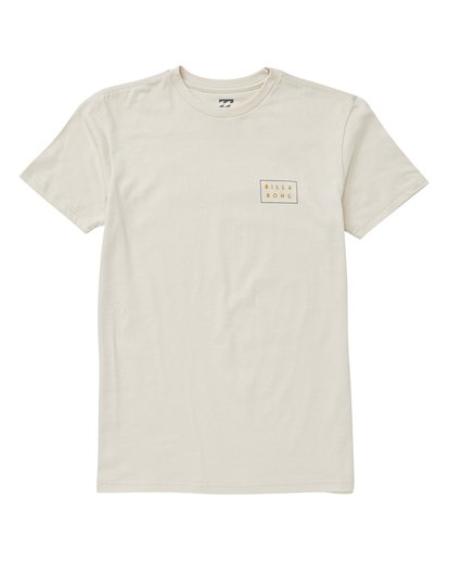 0 Boys' Diecut T-Shirt White B404VBDC Billabong