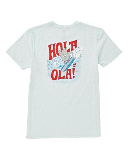 1 Boys' Hola Ola 2 T-Shirt Blue B404VBHL Billabong