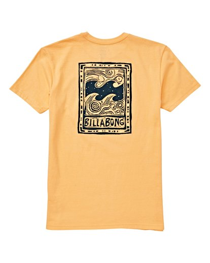 1 Boys' Icon T-Shirt Orange B404VBIC Billabong