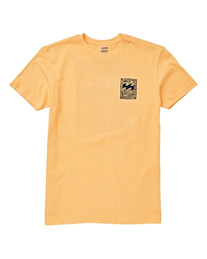 0 Boys' Icon T-Shirt Orange B404VBIC Billabong