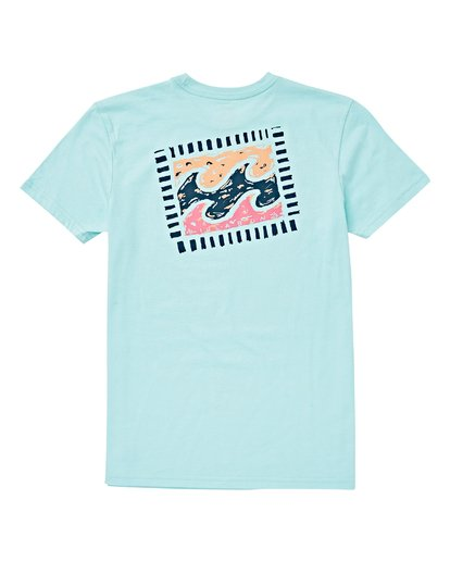 1 Boys' Icon T-Shirt Blue B404VBIC Billabong