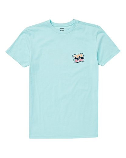 0 Boys' Icon T-Shirt Blue B404VBIC Billabong