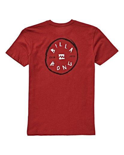 1 Boys' Rotohand T-Shirt Brown B404VBRH Billabong