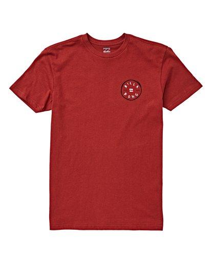 0 Boys' Rotohand T-Shirt Brown B404VBRH Billabong
