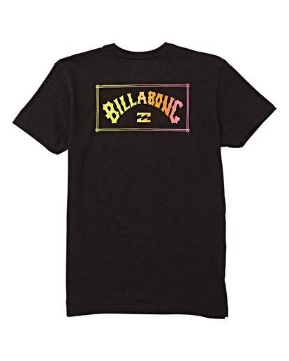 1 Kids' Unity Short Sleeve T-Shirt Black B404WBAR Billabong