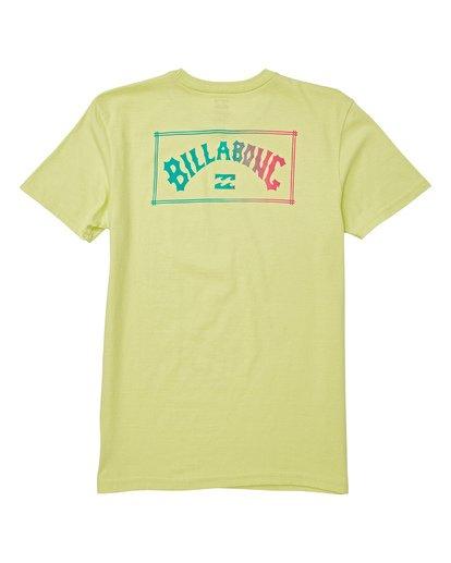 1 Kids' Unity Short Sleeve T-Shirt Green B404WBAR Billabong