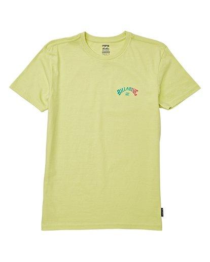 0 Kids' Unity Short Sleeve T-Shirt Green B404WBAR Billabong